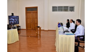 အဂတိလိုက်စားမှုတိုက်ဖျက်ရေး အာဆီယံအဖွဲ့ (ASEAN PARTIES AGAINST CORRUPTION_ ASEAN-PAC) ၏ (၁၆) ကြိမ်မြောက် ရုံးအဖွဲ့၏ Video conferencing အစည်းအဝေးတွင် အေစီစီရုံးက ပါဝင်တက်ရောက်ခြင်း