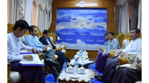 IMF Staff Visit Mission အဖွဲ့နှင့် တွေ့ဆုံဆွေးနွေးမှု