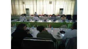 UNODC မှ Anti-Corruption and Law Enforcement International Expert Mr. Raghavan Kuppuswamy အား လက်ခံတွေ့ဆုံဆွေးနွေးမှု