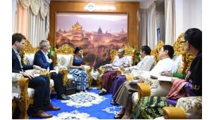 Coca-Cola, YOMA Strategic Holdings Ltd. နှင့် Telenor Myanmar တို့ ပူးပေါင်းဖွဲ့စည်းထားသည့် Anti-Corruption Alliance အဖွဲ့အားလက်ခံတွေ့ဆုံဆွေးနွေးမှု