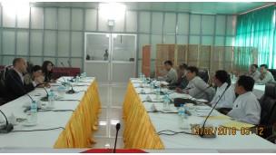 Code of Conduct  ရေးဆွဲရန်အတွက်  UNDP မှ တာဝန်ရှိသူများနှင့် အစည်းအဝေးပြုလုပ်