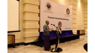 -    အဂတိလိုက်စားမှုတိုက်ဖျက်ရေးကော်မရှင်သည် အမေရိကန်ပြည်ထောင်စု တရားရေးဌာနနှင့် ပူးပေါင်းပြီးForensic Accounting Workshop အလုပ်ရုံဆွေးနွေးပွဲအခမ်းအနားပြုလုပ်