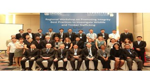 -    Promoting Integrity Best Practices to Investigate Wildlife and Timber Trafficking-2015 Workshop was held in Hanoi, Vietnam supervised by UNODC