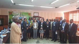 UNCAC ပြန်လည်သုံးသပ်ရေး ဒုတိယစက်ဝန်း လုပ်ငန်းစဉ်အတွက် အစိုးရဌာနဆိုင်ရာ ကျွမ်းကျင်ပညာရှင်များအဖွဲ့မှ အဖွဲ့ဝင်(၂)ဦး နိုင်ဂျီးရီးယားနိုင်ငံသို့ Country Visit