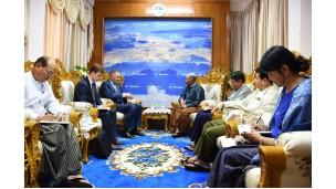 အဂတိလိုက်စားမှုတိုက်ဖျက်ရေးကော်မရှင်ဥက္ကဋ္ဌ မြန်မာနိုင်ငံဆိုင်ရာ ရုရှားနိုင်ငံသံအမတ်ကြီးနှင့် အဖွဲ့အား လက်ခံတွေ့ဆုံ
