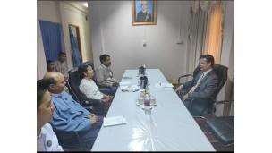 အဂတိလိုက်စားမှုတိုက်ဖျက်ရေးကော်မရှင် အတွင်းရေးမှူး ဦးစန်းဝင်းသည် မြန်မာနိုင်ငံဆိုင်ရာ UNODC ရုံးမှ Country Manager ဖြစ်သူ Mr. Troels Vester အား လက်ခံတွေ့ဆုံခြင်း